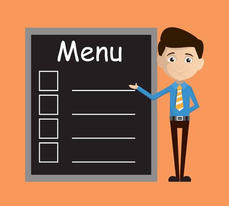 Salesman Employee - Presenting Menu List