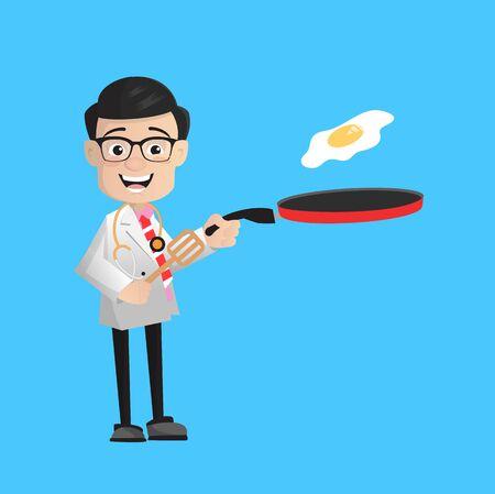 Surgeon - Preparing Food