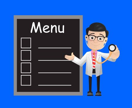 Surgeon - Presenting Menu List Vectores