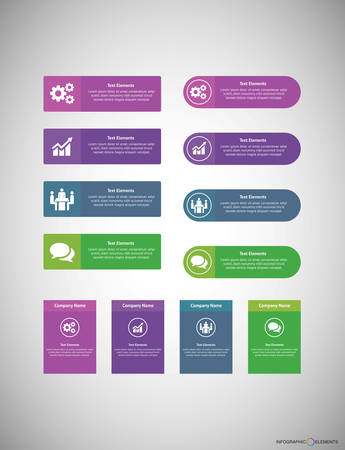 Business Infographic template is suitable for web design social media simplifying a complicated concept express your business information workflow layout and much more. Illustration