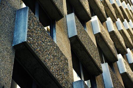 Architecture Business Building Pattern on daytime. 版權商用圖片