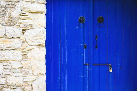 Traditional Village Style  Door in Lefkara    Village