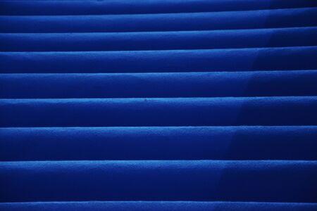 Luxury Blue Carpet Steps in a Business Expo 版權商用圖片