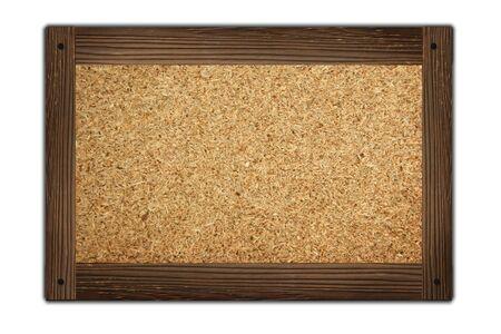 wooden frame on green white background Stock Photo - 10382990