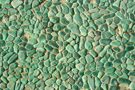 paved: stone texture of walkway Stock Photo