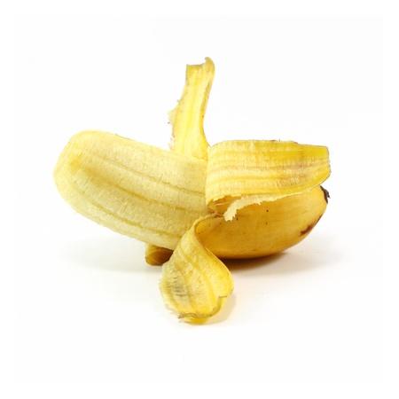 banana peel: Banana Stock Photo