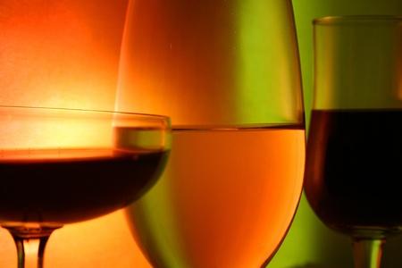 Naturaleza muerta con copa de vino Foto de archivo - 10524834