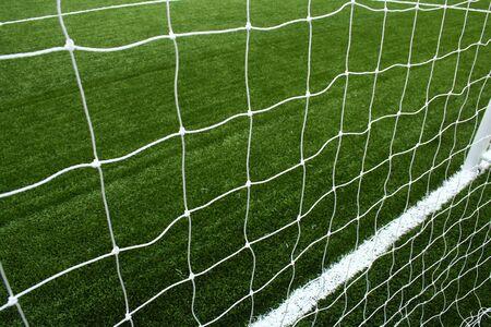 soccer net  photo