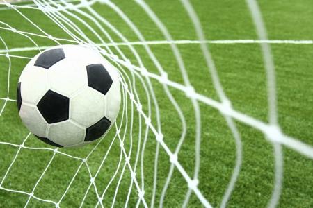 soccer goal: goal