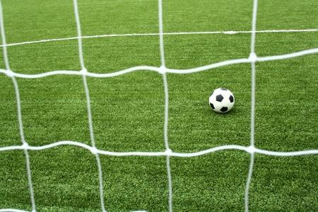 soccer net: soccer net  Stock Photo