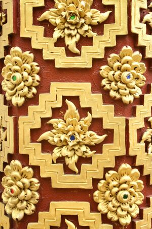 Thai pattern  photo