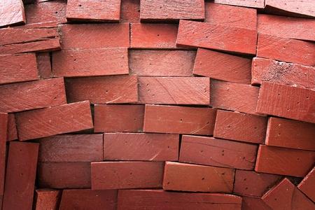 wood bricks texture photo
