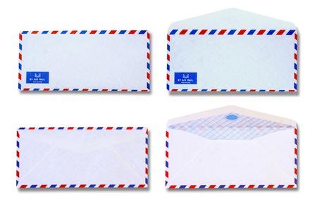 vintage envelope: Sobre Blanco vintage