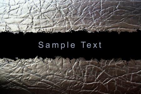 kratzspuren: abstrakte Textur mit Lederpolsterung Probe Textbereich