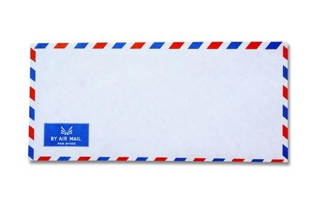 envelope with letter: Busta bianca Vintage
