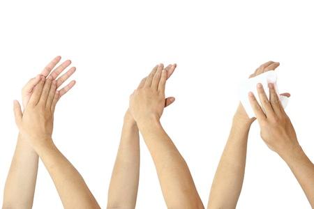 desinfectante: lavarse las manos