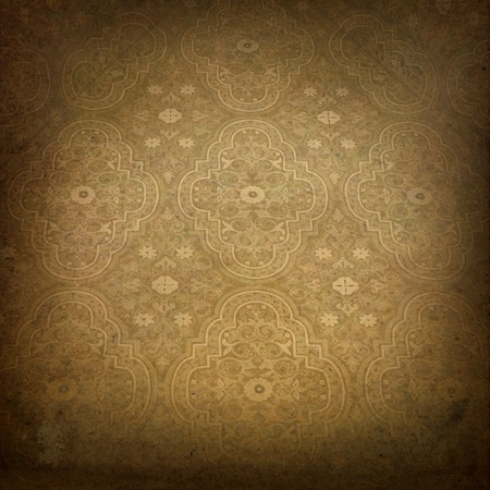 vintage background with classy patterns  photo