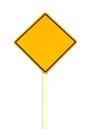 Blank traffic sign Stock Photo - 10725408