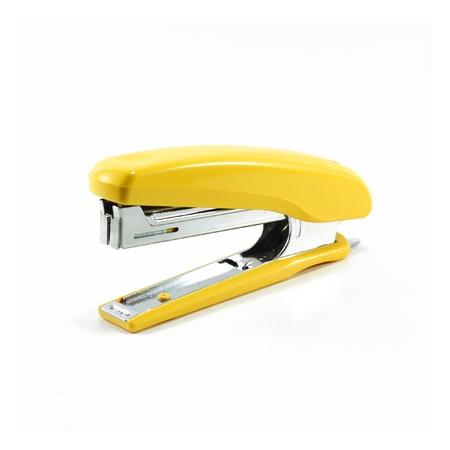 staplers: yellow stapler