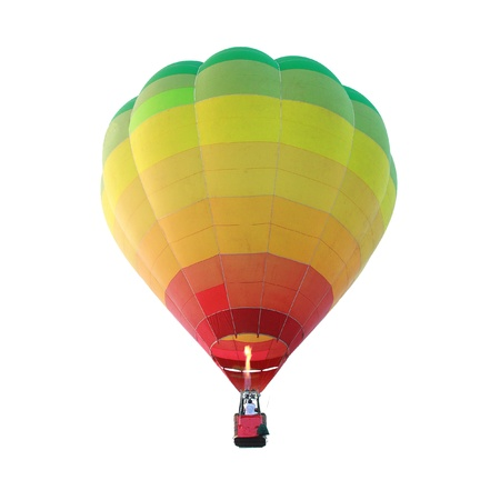 room air: Hot air balloon