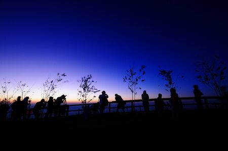 viewpoint: silhouette at viewpoint