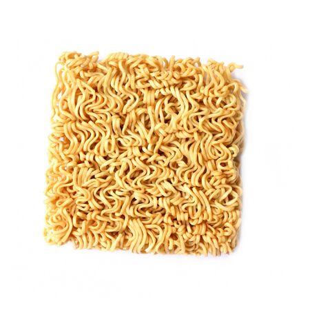 instant noodle: dry Noodle  Stock Photo