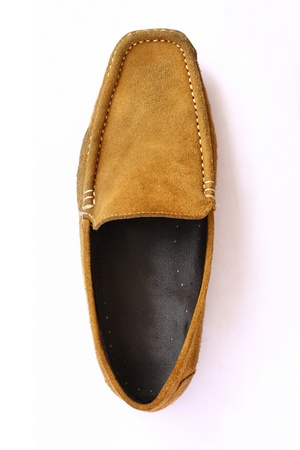 Brown Leather shoes  photo