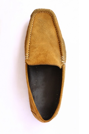scuffed: Brown Leather shoes