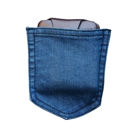 jeans fabric: jeans pocket