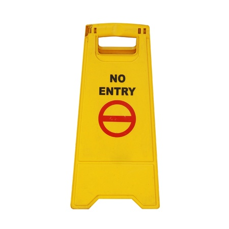 entry: No entry sign