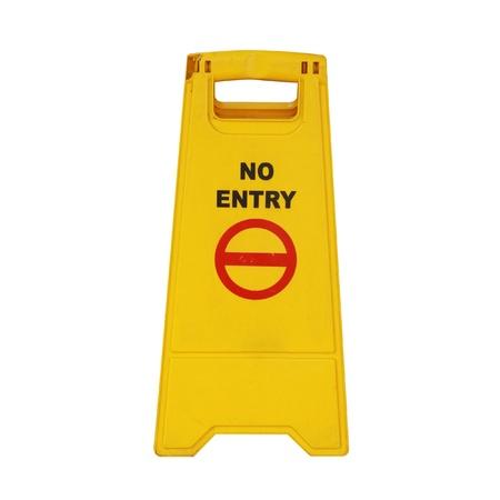 no symbol: No entry sign