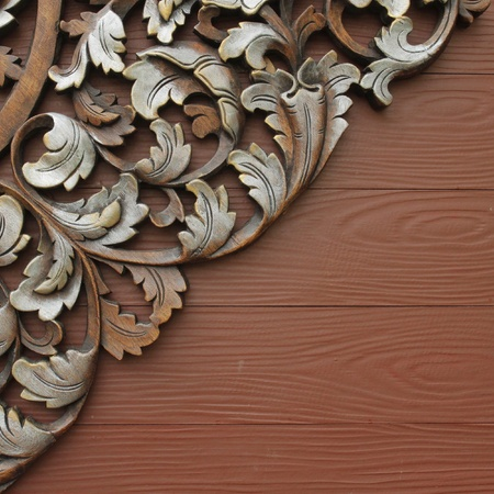 Wood carving patterns photo