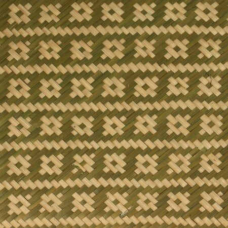straw mat: bamboo handicraft pattern