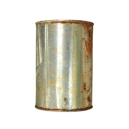 waste products: old can