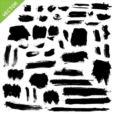 brush strokes: brush strokes vector