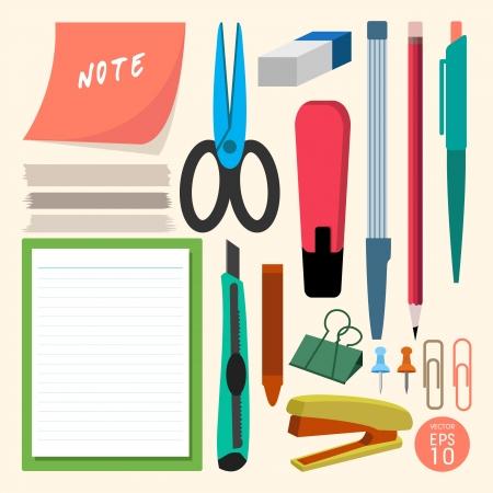 scratch pad: Stationery  Illustration