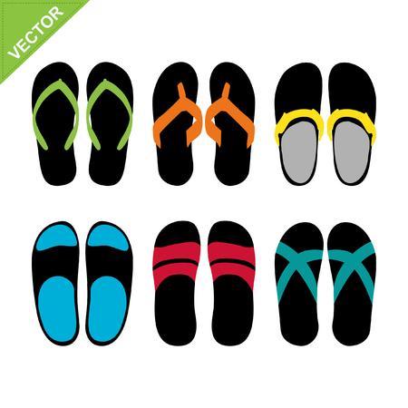 lady slipper: Slippers vector