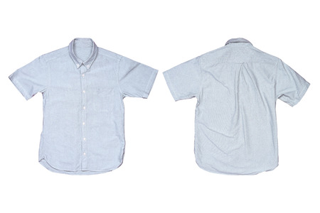 short sleeve: Casual shirtst isolated