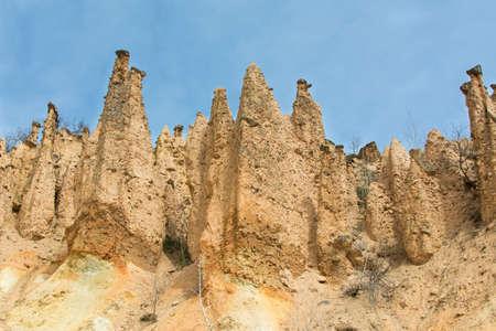 serbia: Devils town in Serbia. Rocks of Djavolja varos, natural wonder