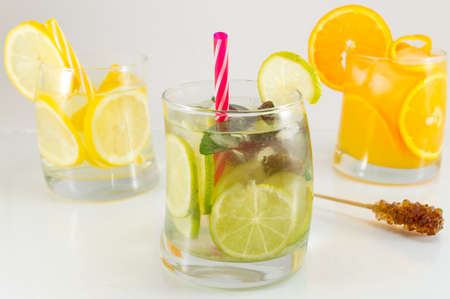 non alcoholic: Lime fruit non alcoholic cocktails for a summer refreshment