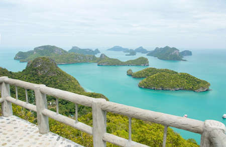 View at Mu Ko Ang Thong National Marine Park in Thailand