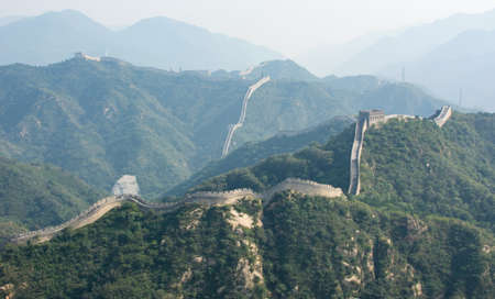 greatwall: View at the Great Wall of China