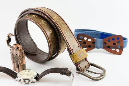 Modern man accesories in brown