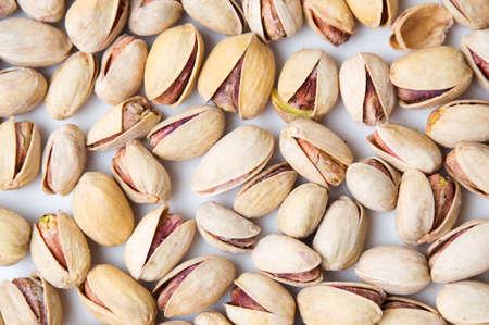 Pistachio seeds background texture pattern