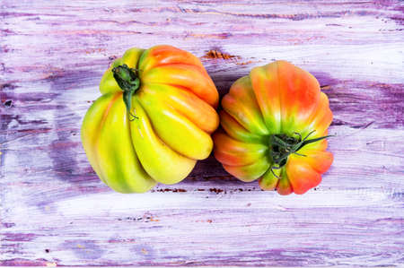 heirloom: Pink heirloom tomatoes