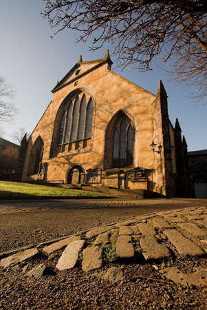 kirk: Greyfriars Kirkyard in Edinburgh where the famous Scottish National Covenant was first signed in 1638.