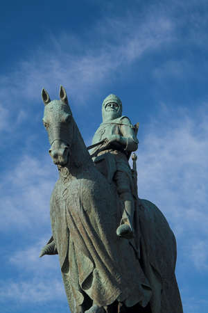 Robert Bruces historically decisive and much celebrated triumph over a vastly superior English army at Bannockburn in 1314 is commemorated with this impressive monument near the site of the battle. The title is taken from the Declaration of Arbroath.