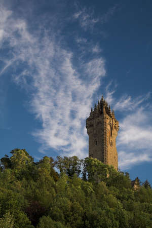 wallace: Constructed in the mid 19th century Scotlands National Wallace Monument occupies a commanding position atop Abbey Craig from where William Wallace launched his decisive attack on the English forces at Stirling Bridge in 1296.
