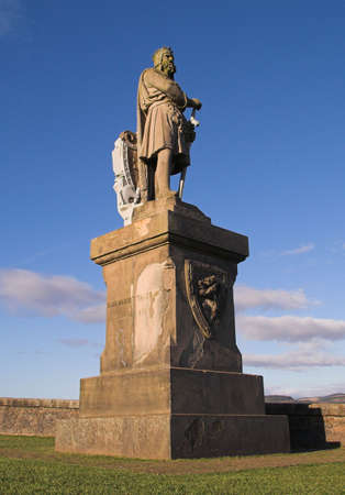 robert bruce: One of Scotlands most celebrated national figures, Robert the Bruce, is immortalised in this monument that stands vigil at the gates of Stirling Castle.