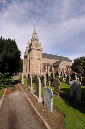St Machar's Cathedral Church in Aberdeen, Scotland has been the site of christian worship since 580AD. The oldest part of the current building dates back to around the mid-fifteenth century.  Stock Photo - 9059492